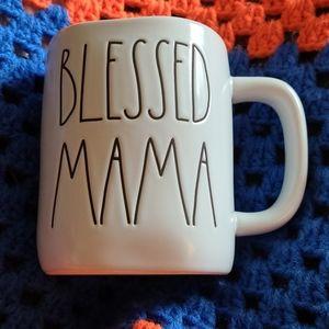 "Rae Dunn ""BLESSED MAMA"" mug"